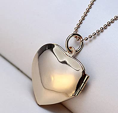 Latigerf You are My Sunshine Heart Locket Necklace Engraving Pendant Picture for Girl