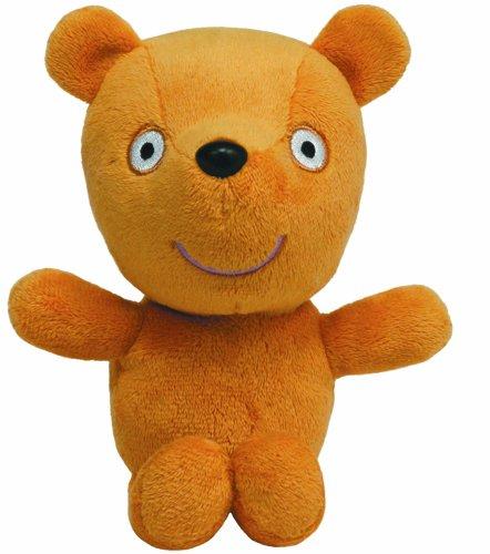 Carletto Ty 46178 Peppa Pig Teddy TY 46178-Peppa Baby Teddybär, Beanie Babies, 15 cm, braun