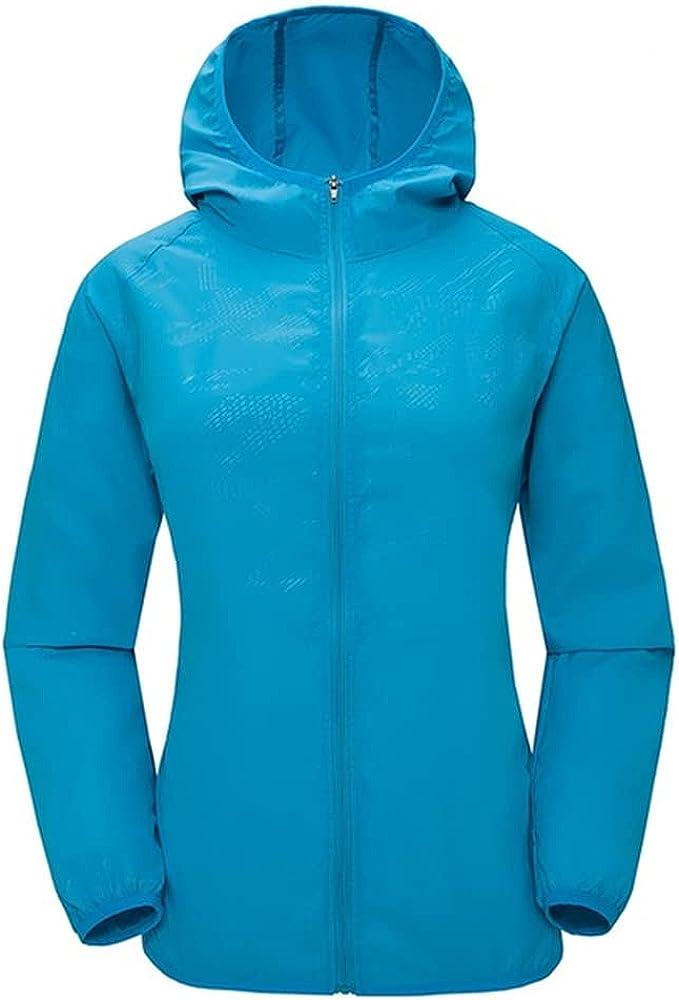 Camping Rain Jacket Men Women Waterproof Sun Clothing Fishing