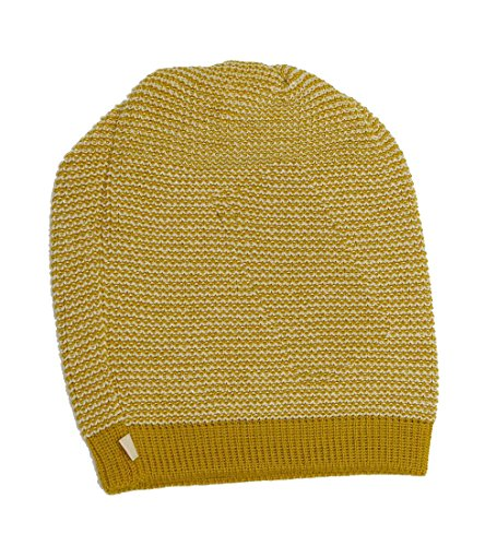Disana Long-Beanie Wolle (curry/natur melange)