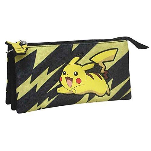 Pokemon Pikachu luxe Estuche standard, Poliester,