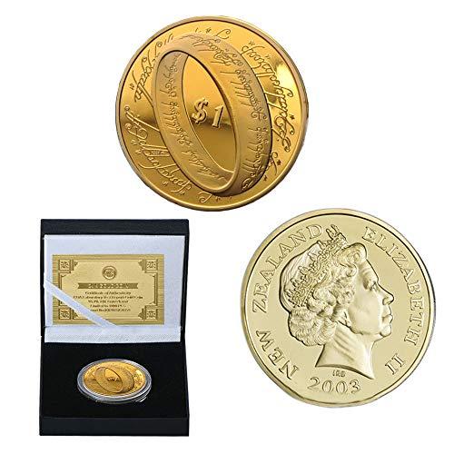 Nueva Zelanda,el Señor de Los Anillos,Monedas Conmemorativas,el Señor de Los Anillos,Chapado en...