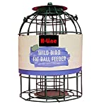 HANGING METAL WILD BIRD FEEDERS FEEDING