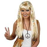 Fun Shack Giallo Hippie con Treccia Parrucca per Donne - Taglia Unica...