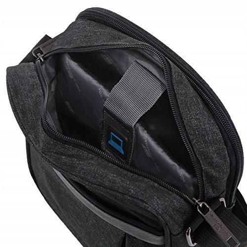 Von Cronshagen Tablet Tasche 9,7 Zoll universal, Umhängetasche wasserabweisend, robuste und gepolsterte Schultertasche, iPad, Überschlagtasche für Damen und Herren