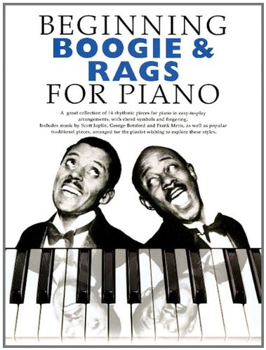 Beginning Boogie And Rags -For Piano-: Noten, Sammelband für Klavier: Beginning Piano Series