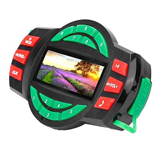Reproductor de MP3 Bluetooth para motocicleta, Cargador de motocicleta LCD a prueba de agua Reproductor de MP3 con altavoz de radio FM Bluetooth con carga de teléfono Cargador de teléfono para radio d
