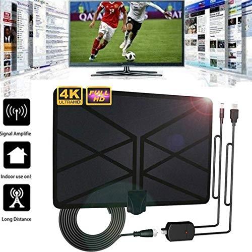 YSHTAN Antena de TV para otros aparatos electrónicos, 960 millas, 4 K, antena de TV para interiores, amplificada digital de alta definición HDTV