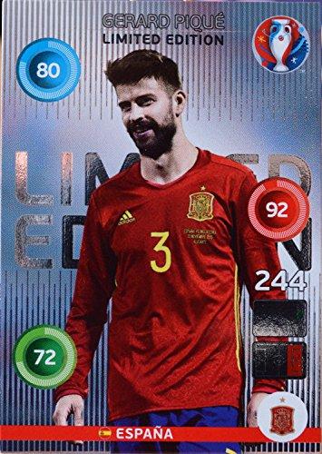 carte PANINI EURO 2016 # Gerard Piqué