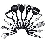 Cooking Kitchen Utensil Set - 12Pcs Kitchen Utensils-Kitchen Gadgets Cookware Set-Nonstick Heat...