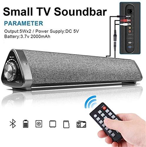 Barras De Sonido Dolby Atmos 3D Sonido Envolvente Estéreo Compatible con Control Remoto Tarjeta TF Adecuada para Computadora con Teléfono Inteligente MP3 / MP4 Y TV