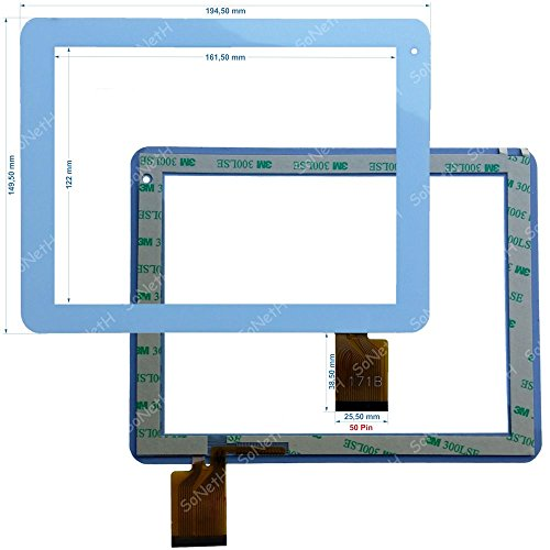 Soneth Vetro Touch screen 8,0' Nordmende ND-R800W FPC171B 171B Bianco