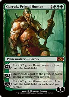 Magic: the Gathering - Garruk, Primal Hunter (174) - Magic 2013