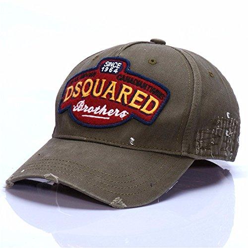 HYP@Baseball Cap/Baseballkappe/Trucker Cap/Trucker Hat/Golf Sport Outdoor Kappe Mütze CapHerren Outdoor Getaways Sun Cap, Grün, einstellbar
