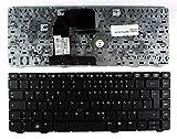 Keyboards4Laptops Deutsch Mit Zeiger Schwarz kompatible Ersatz Tastatur kompatibel mit HP Elitebook 8460p