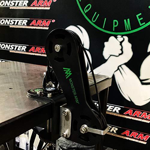 アームレスリング 腕相撲 筋トレ 器具 (手首 腕 握力 の トレーニング に) キントレ器具 低固定プーリー設計、高さ調節不可能,ステンレス鋼