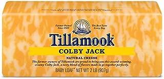 Tillamook Cheese 2lb Baby Loaf (Choose Flavor Below) (Colby Jack)