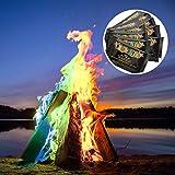 MonsterCadeaux - Poudre pour colorer Les Flammes - Feu Multicolore et Mystique - Mystical Fire -...