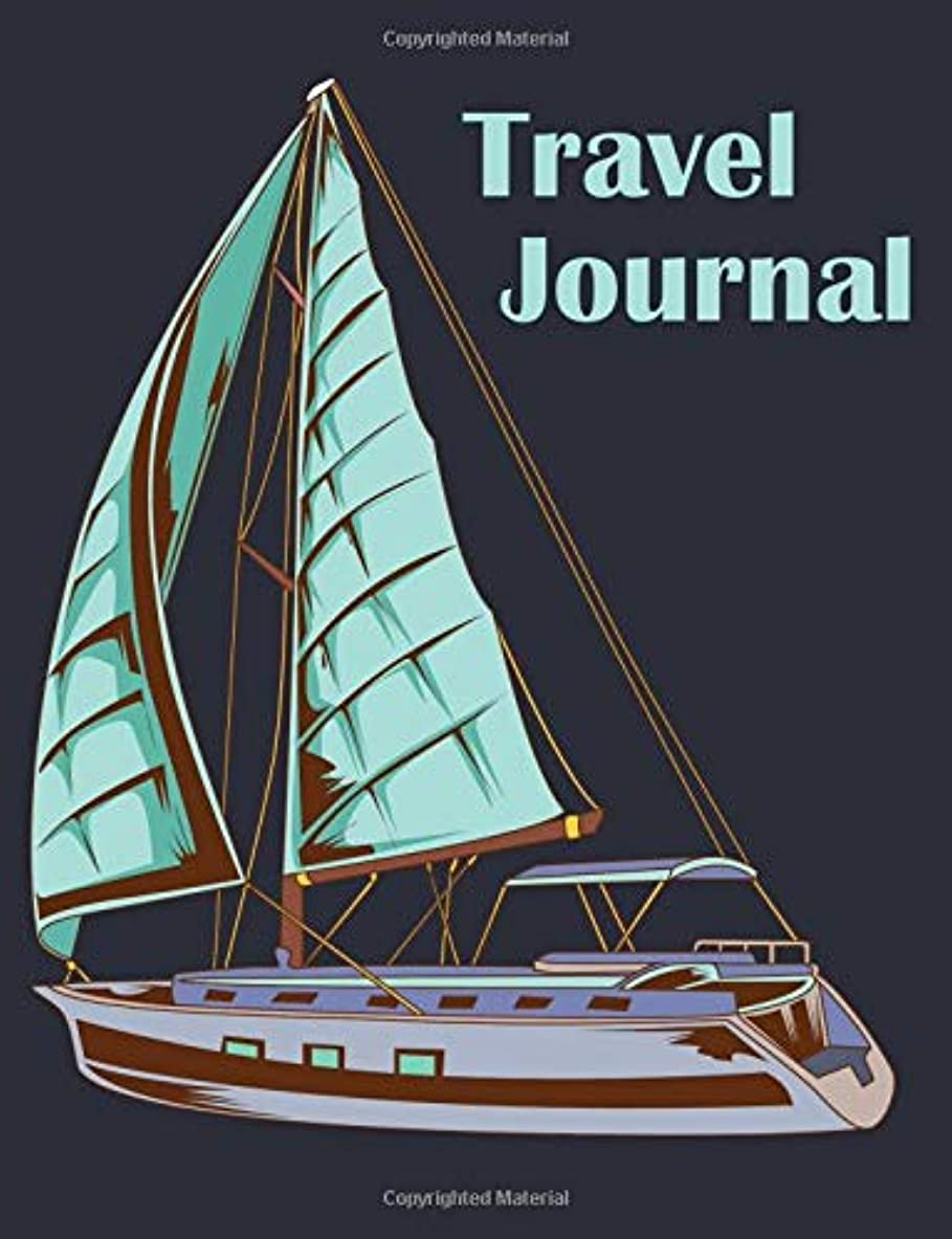 エレクトロニック入場料侵入Travel Journal: Blank Journal With Wide Ruled Paper (7.44 x 9.69)