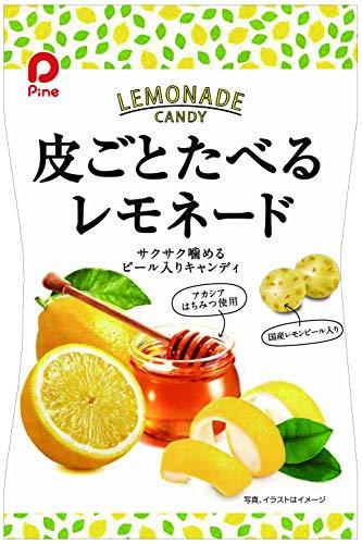 パイン 皮ごとたべるレモネードキャンディ 85g ×10袋