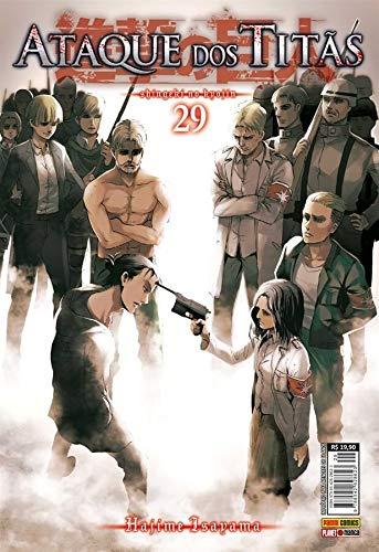 Ataque Dos Titãs Vol. 29