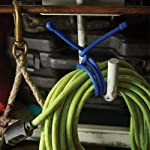 Nite Ize Original Gear Tie, Reusable Rubber Twist Tie, Assorted Colors and Sizes, 8 Pack, Made in the USA 12 REUSABLE RUBBER TWIST TIES - Flexible, reusable Gear Ties have a tough rubber exterior that provides excellent grip and a strong, bendable wire interior to hold their shape making them endlessly reusable and useful AVAILABLE IN A VARIETY OF COLORS + SIZES FOR ALL YOUR WRAPPING, BUNDLING, + ORGANIZING NEEDS - With a variety of sizes, you can tackle any job from cord organization to large home DIY projects TWIST IT, TIE IT, REUSE IT - No more need for single-use cable ties or zip ties, these Reusable Rubber Twist Ties can be used over and over again to organize cords, wrap headphones, and for endless other tasks at home, in the office, or on the job site