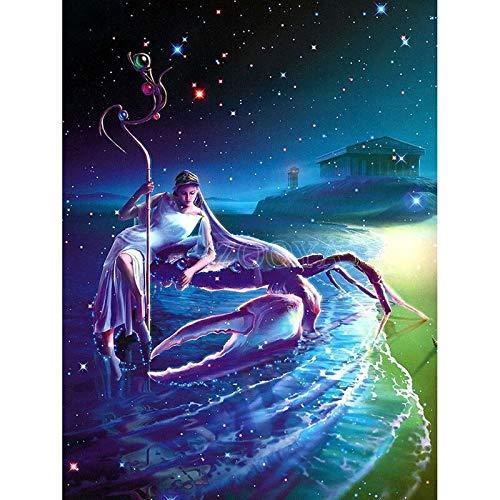 1000 Piezas Puzzle Capricornio Zodiac   Puzzles de Madera para Arte, 1000 Piezas, para Adultos, niños, niños 50x75cm