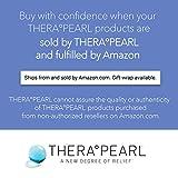 Masque facial TheraPearl avec billes de gel pour thérapie au froid et au chaud -Pour les yeux gonflés et la relaxation