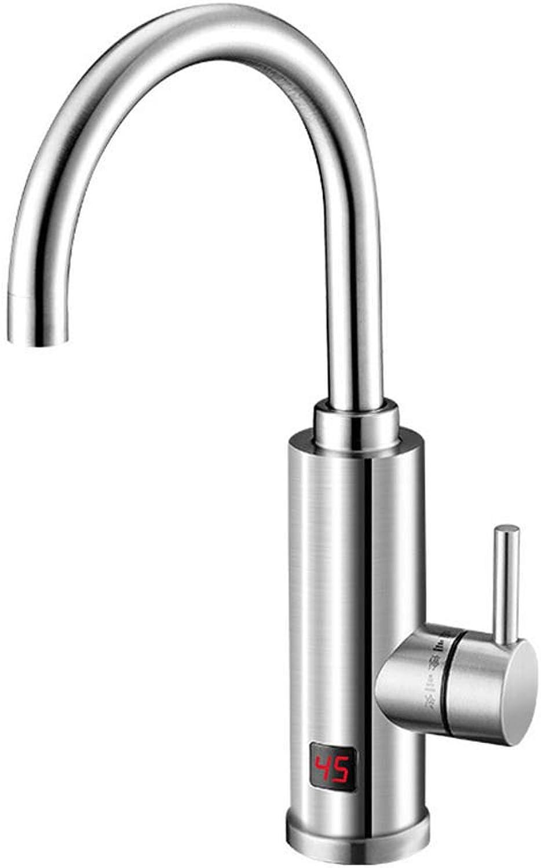 AWDTN Elektro Wasserhahn Schnelle Wrme Sofortige Heizung Küchenschatz Schnell über Leitungswasser Warmwasserbereiter Edelstahlgehuse
