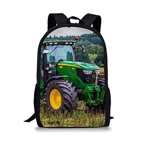 impresión Mochila Escolar Tractor agrícola Grande,Mochila Escolar,Mochila Escolar Primaria, Mochila Escolar Secundaria, Mochila Juvenil