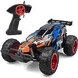 DDYX2020 1: 22-2.4Ghz-Remote Control Race Car, Coche teledirigido, Coches teledirigidos para niños de Alta Velocidad, Con 2 baterías de automóvil + 2 baterías AA (Azul)