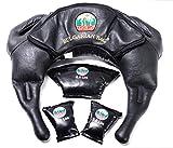Bulgarian Bag Suples Strong Model (M-L 26-37 lbs, gen Leather) The Original Creator (Fitness, Crossfit, Wrestling, Judo, Grappling, Functional Training, MMA, Sandbag, Cardio, Strength)
