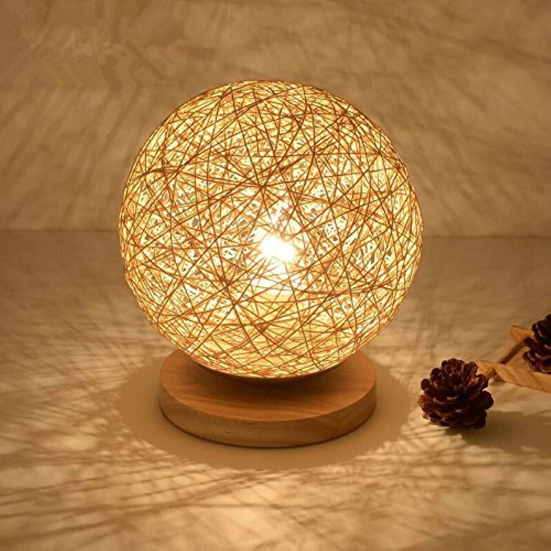 Eine idyllische Kunst leuchten Schlafzimmer Bett Lampen minimalistischen Kreative ma ball Lampen B071CKNHVD | Grüne, neue Technologie