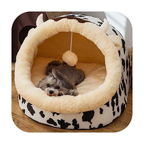 Cama extraíble para gato, casa de perrera, nido, cama para perro, sofá cama, cojín para mascotas, productos para perros pequeños, gatito Perros, cama, color blanco
