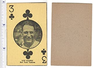 1927 W560 Regular (Baseball) Card# 16 lou gehrig of the New York Yankees ExMt Condition
