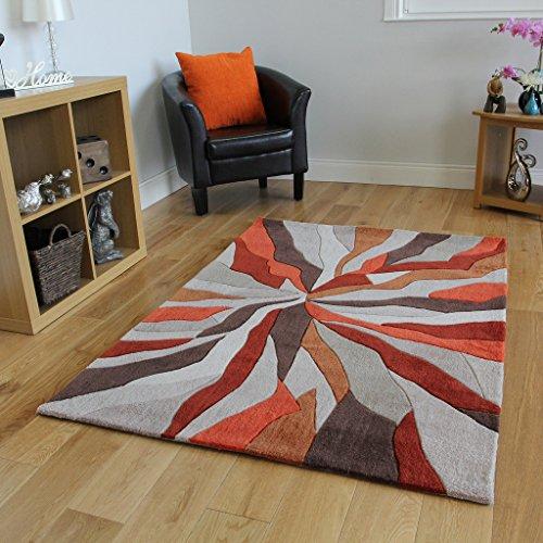 The Rug House Alfombras Salón Modernas Diseño Efecto Ondas