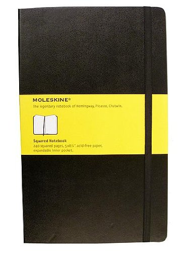 Price comparison product image Moleskine Classic Hard Cover Notebooks black,  sketch 3 1 / 2 in. x 5 1 / 2 in. 80 pages [PACK OF 2 ]
