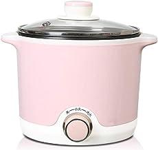 Dortoir étudiant petit pot électrique mini cuisinière électrique multifonctionnelle domestique-Rose