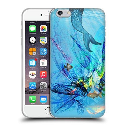 Head Case Designs Licenza Ufficiale Haroulita Sirene Fantasy 2 Cover in Morbido Gel Compatibile con Apple iPhone 6 Plus/iPhone 6s Plus