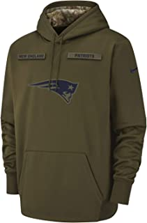 New England Patriots 2018 NFL Salute to Service Men's STS Therma Hoody