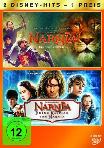 Die Chroniken von Narnia - Der König von Narnia / Prinz Kaspian von Narnia [2 DVDs]