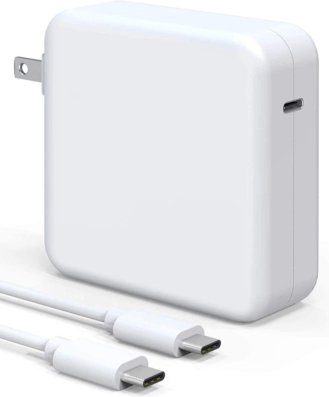 96W Mac Book Pro Charger USB C Power Adapter, Compatible with MacBook Pro & Air Fast Charger, Replacement Type c Charger PD Power Delivery Fast Charging for MacBook Pro 13