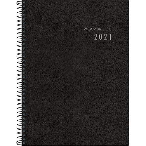 Agenda Executiva Espiral Diária de Mesa Cambridge 2021, Tilibra, 315141
