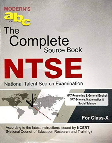 Modern ABC NTSE Class 10 Complete Source Book