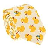 SHIPITNOW Gelbe Entchenkrawatte - Enten Küken Krawatte - Verkleidung