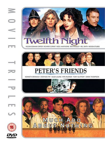 Twelfth Night/Peter's Friends/Much Ado About Nothing [Import anglais]