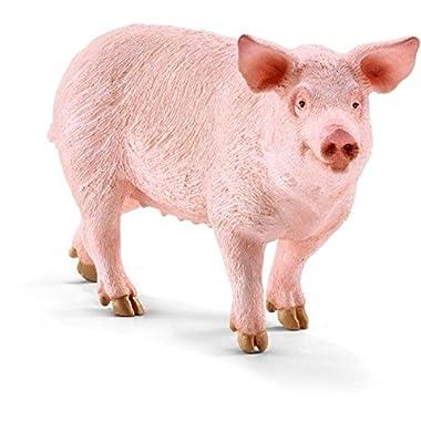 Schleich Pig Figurine Toy Figure