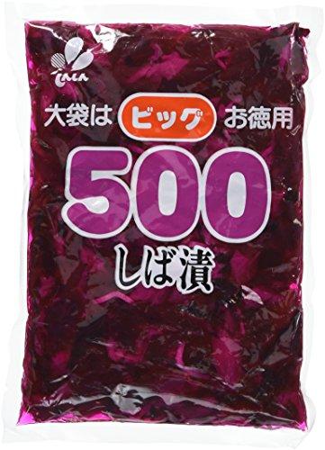 新進 ビッグ500 しば漬 500g
