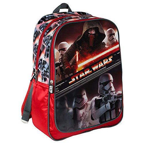 Star Wars 42 cm VII La Force réveille Première Commande Kylo Ren et Stormtrooper Sac à Dos (Grand)