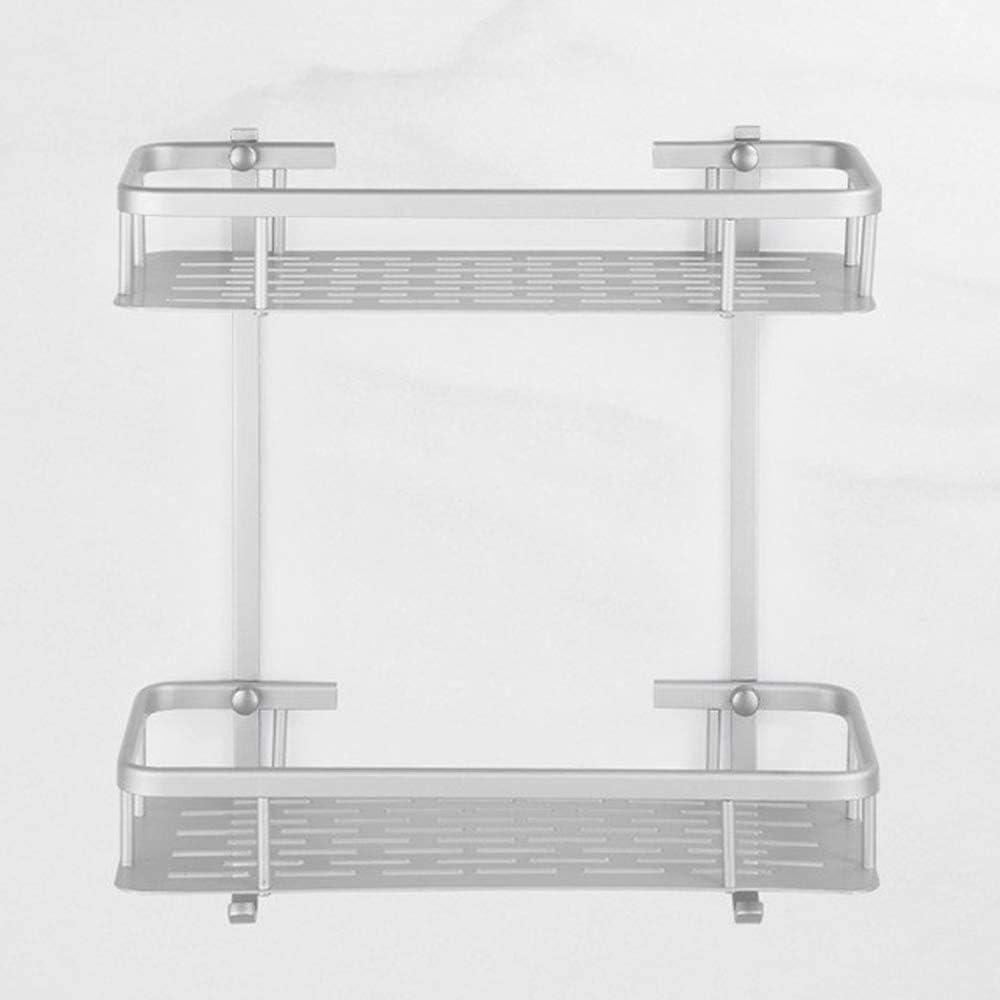 Manufacturer OFFicial shop Qingbaotong Shower Shelf Bathroom 2 OFFicial mail order Shelves Aluminum Tier